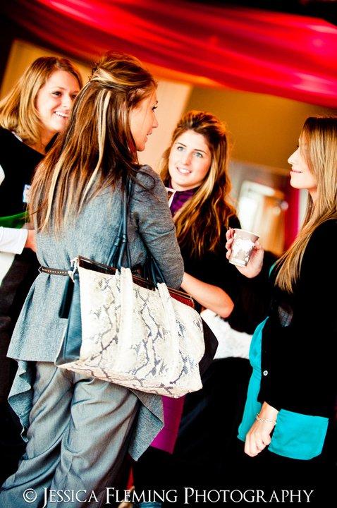 women networking