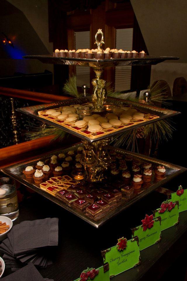 Tier of desserts