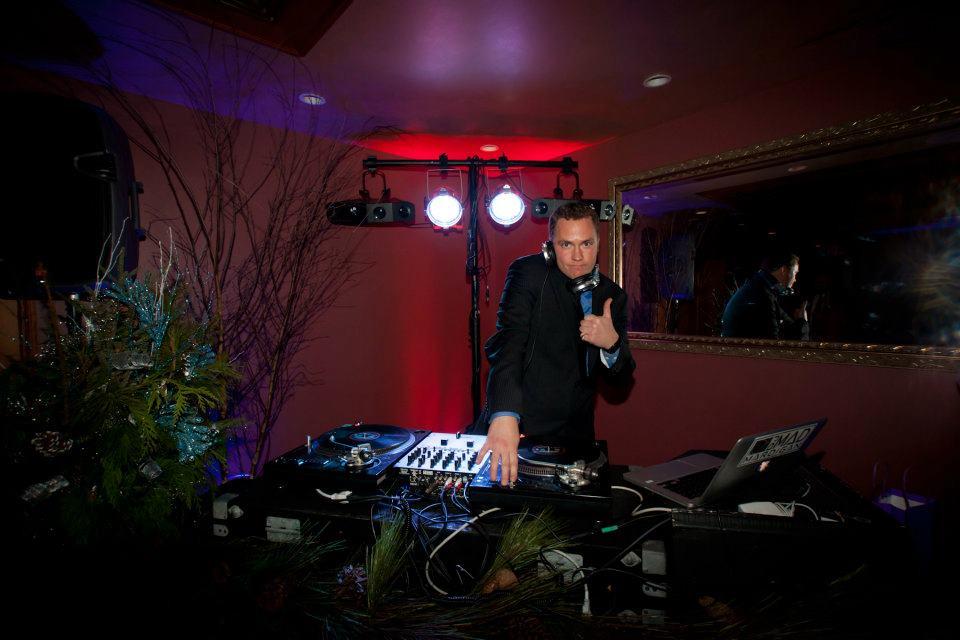 DJ at Van Dusen Mansion