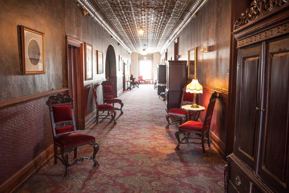Concord Exchange Hallway