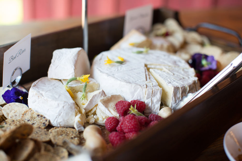 fancy cheese plate