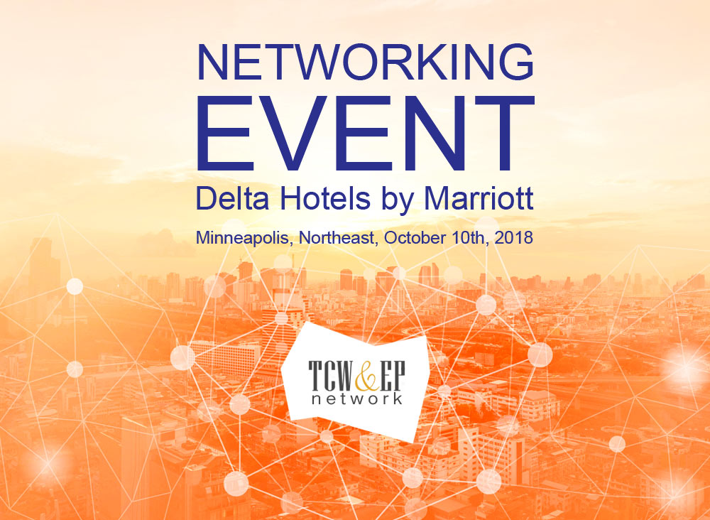 You're Invited! Delta Hotel Minneapolis Northeast – TCWEP Event October 10th 2018