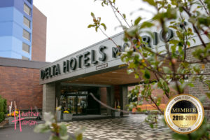 outside view of delta hotels by marriott entry