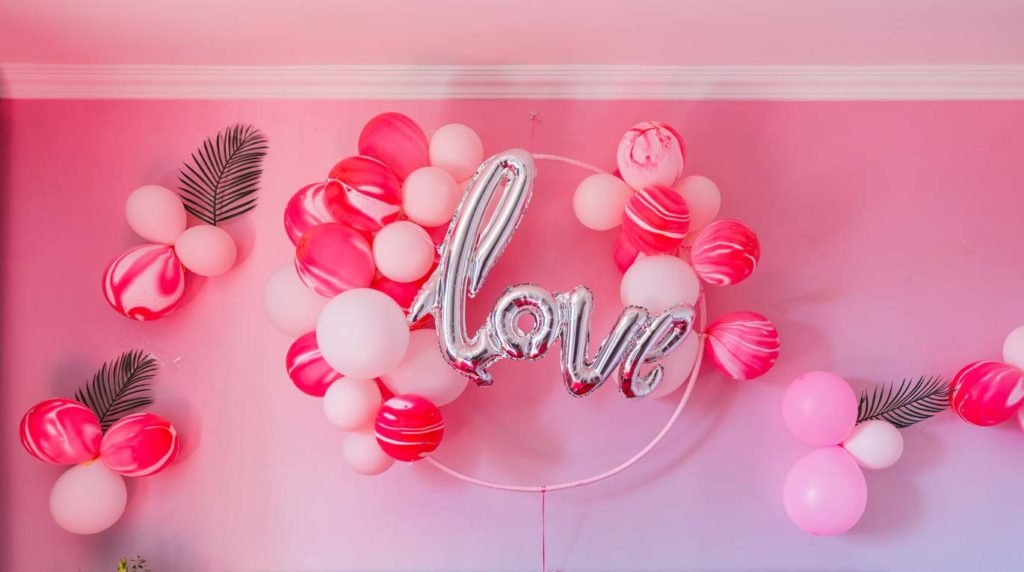 Balloon wedding trend