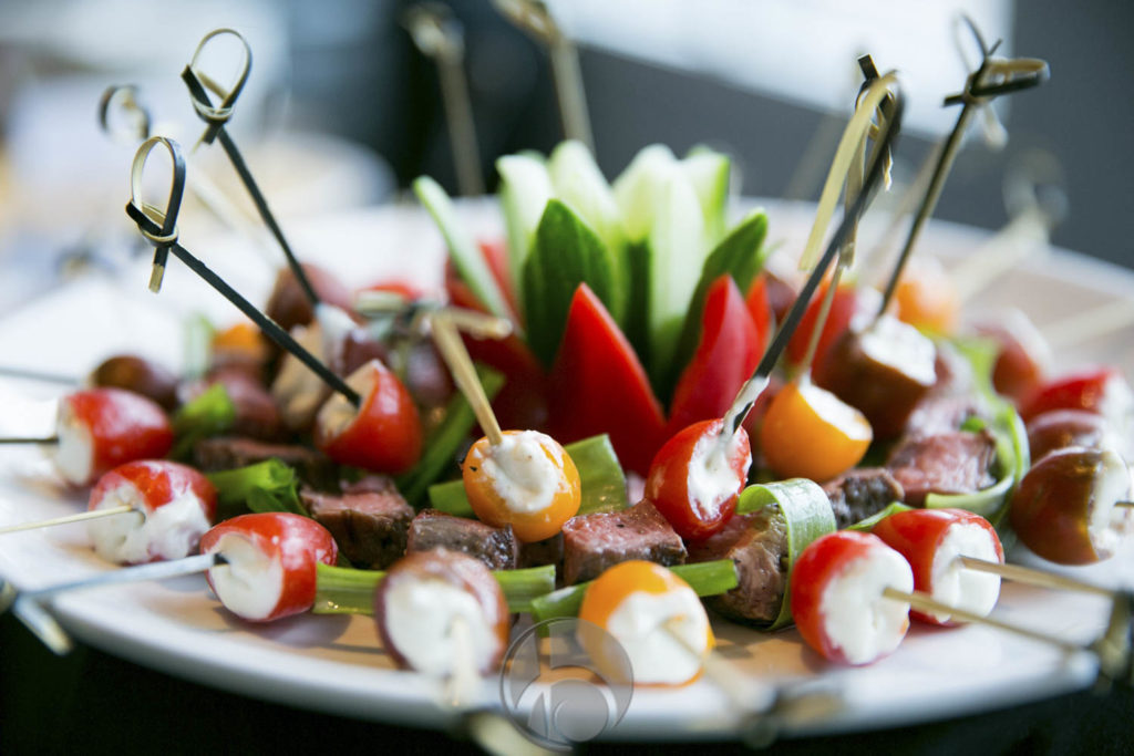 CRAVE catering steak appetizer