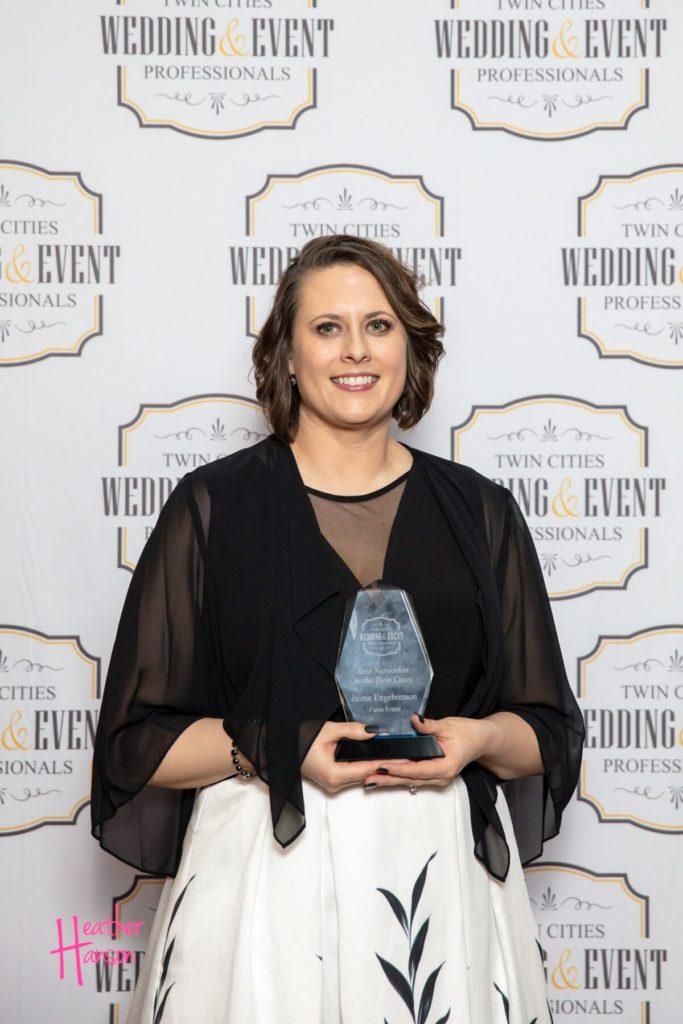 Jaime Engrbretson Event Planner 2019 TCWEP Award