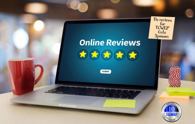 5 star online review