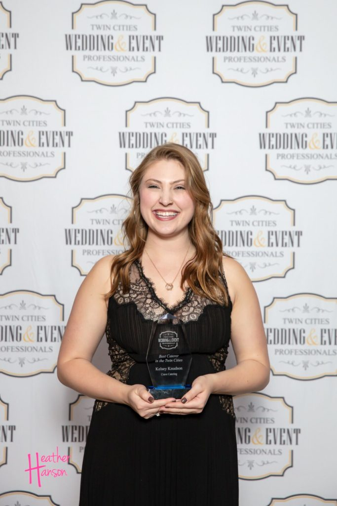 Kelsey Knudson Crave Catering TCWEP Award