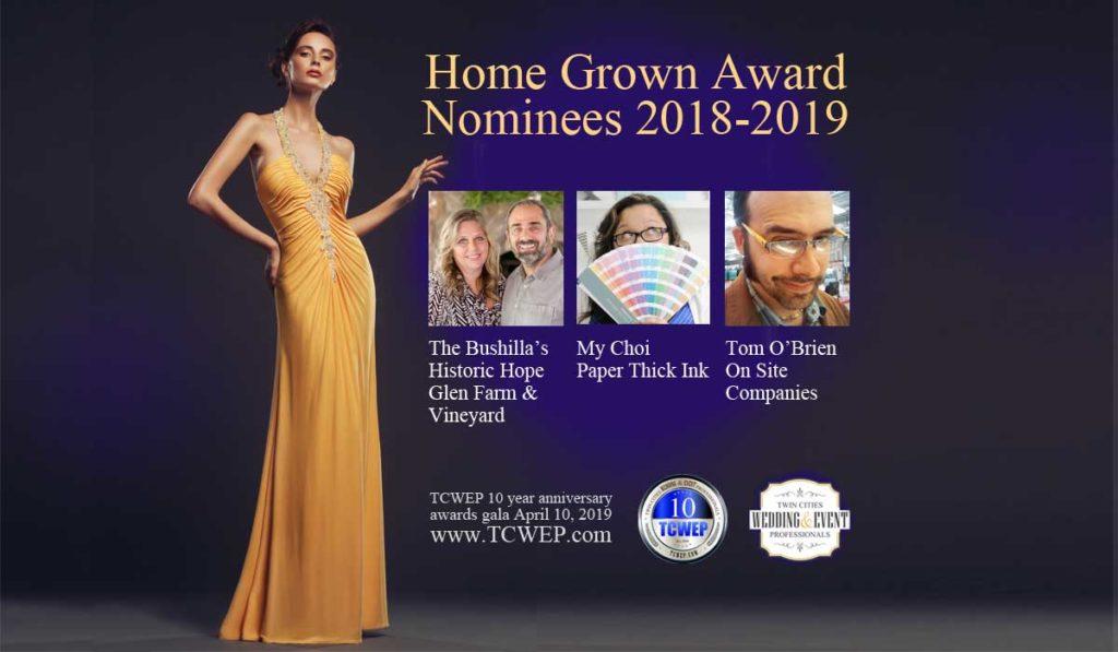 Home Grown Award TCWEP