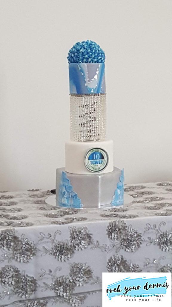Sugar and Spice custom tier cake