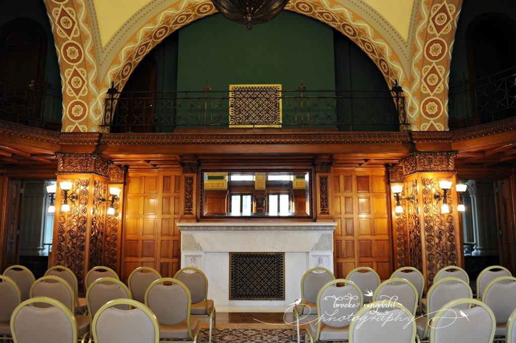 landmark center wedding room