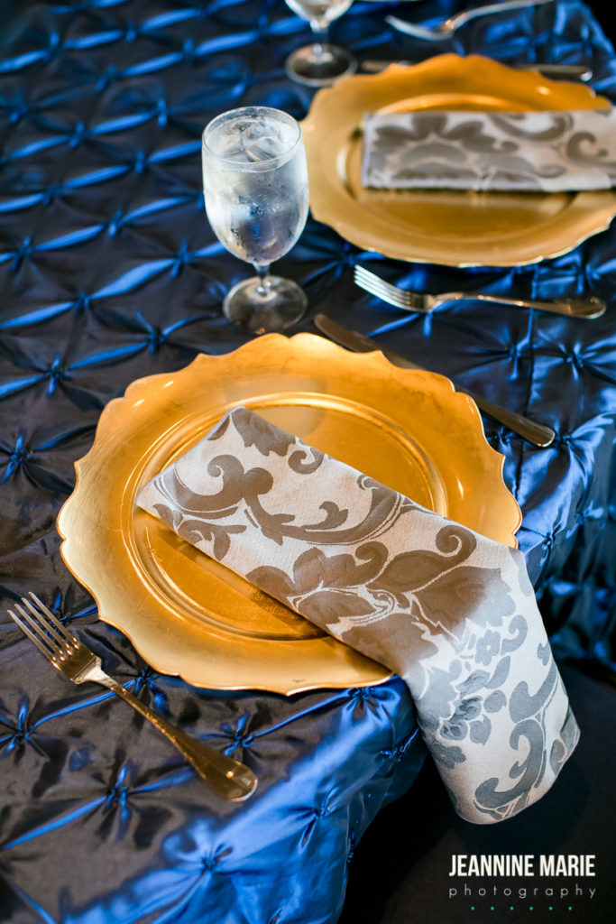 best event table decor linens