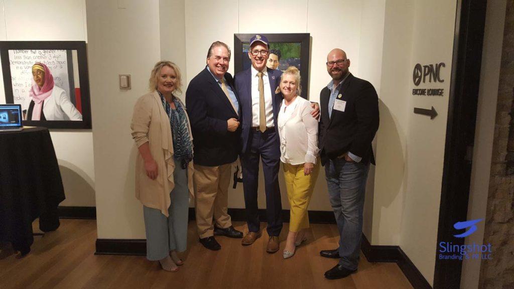 Michelle Tverberg, Bill Herman, Alan Marshal, Wife, Matt Sherry