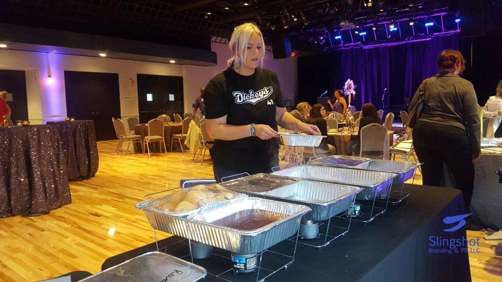 Rachel Keller with Dickey's BBQ Pit