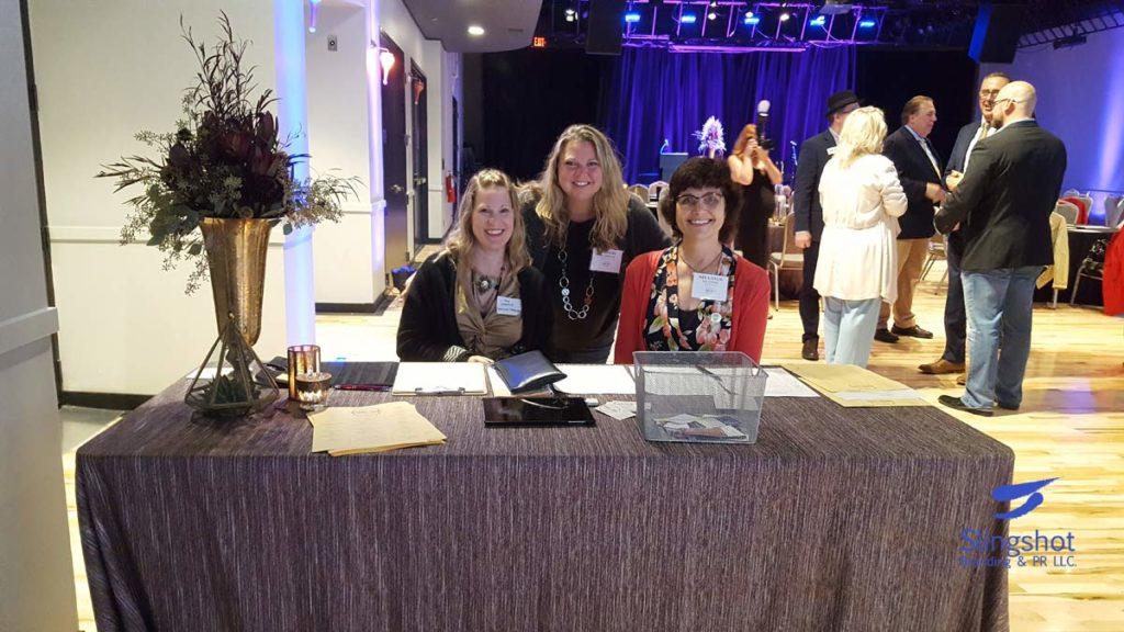 Amy Coppersmith, Amber Klaseus, Sharon Planer