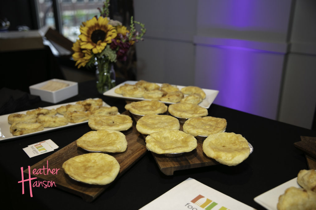 Pot pies from Food Gallery