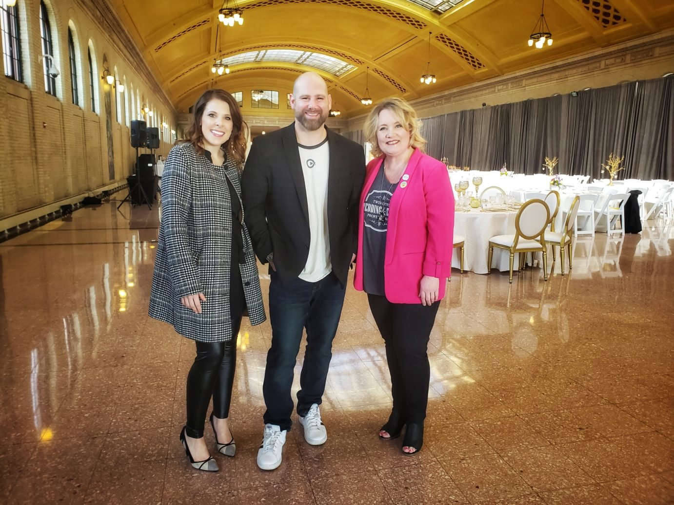 Elizabeth Sherry, Matthew Sherry, Michelle Tverberg, Union Depot St. Paul