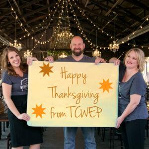 Elizabeth Sherry, Matthew Sherry, Michelle Tverberg- Thanksgiving